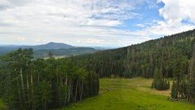从亚利桑那的山风景 库存照片