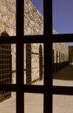 亚利桑那监狱领土美国yuma 库存图片