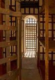亚利桑那监狱领土美国yuma 免版税库存照片