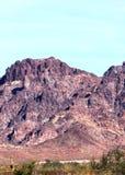 亚利桑那福利码头野营的风景,桃红色紫金山范围 库存图片