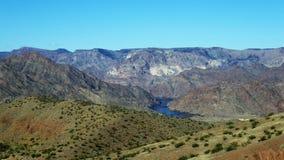 亚利桑那科罗拉多马掌河美国 图库摄影