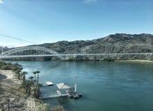 亚利桑那科罗拉多马掌河美国 免版税图库摄影