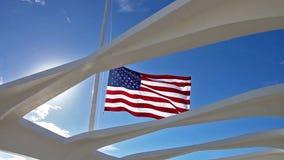 亚利桑那纪念品旗子 股票视频