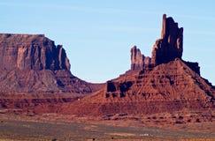 亚利桑那纪念碑美国犹他谷 免版税图库摄影