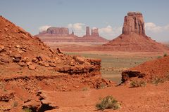 亚利桑那纪念碑谷 免版税库存图片