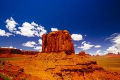 亚利桑那纪念碑那瓦伙族人公园部族美国谷 免版税库存图片