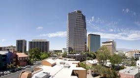 亚利桑那街市全景图森 免版税库存照片