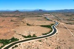 亚利桑那运河 库存图片