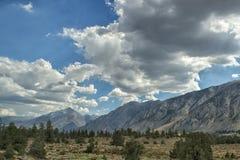 亚利桑那远的西部视图 免版税库存图片