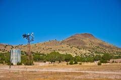 亚利桑那风车 图库摄影