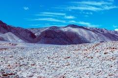 亚利桑那黑色岩石 库存照片