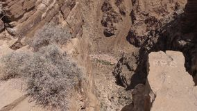 亚利桑那,一点科罗拉多峡谷,看下来在小的科罗拉多峡谷里面 股票录像