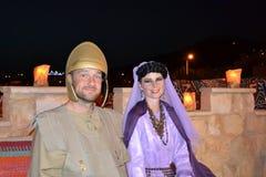 亚历克斯&莉萨婚礼 免版税库存图片