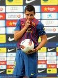 亚历克西斯智利足球运动员桑切斯 免版税图库摄影