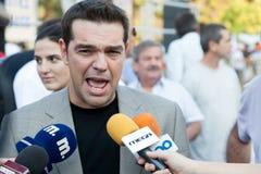 亚历克西斯tsipras 免版税图库摄影