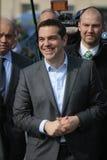 亚历克西斯tsipras 免版税库存照片