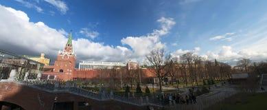 亚历山大公园,莫斯科,俄国联邦城市,俄罗斯联邦,俄罗斯 库存照片