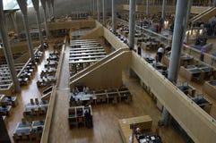 亚历山大埃及图书馆阅览室旅行 免版税库存照片