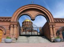 亚历山大大教堂nevskii 库存照片