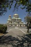 亚历山大大教堂nevsky索非亚 库存照片