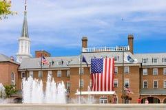 亚历山大市政厅前面  库存图片