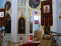 亚历山大教堂哥特式peterhof 免版税库存图片