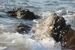亚历山大海滩 免版税库存图片