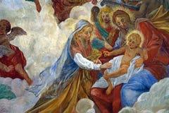 亚历山大的圣徒凯瑟琳诞生  图库摄影