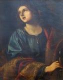 亚历山大的圣徒凯瑟琳 免版税图库摄影