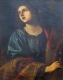 亚历山大的圣徒凯瑟琳 库存图片