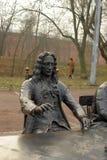 亚历山大的雕刻的构成建筑师停放 库存图片