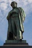 亚历山大纪念碑诗人pushkin俄语 库存照片