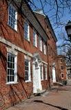 亚历山大, VA :18世纪Gadsby的小酒馆 库存图片