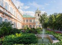 亚历山大・涅夫斯基修道院,圣彼德堡,俄罗斯 图库摄影