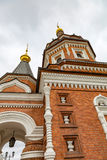 亚历山大・涅夫斯基教堂在雅罗斯拉夫尔市,俄罗斯 免版税库存图片
