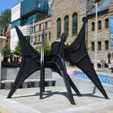 亚历山大・考尔德雕塑的复制品 库存图片