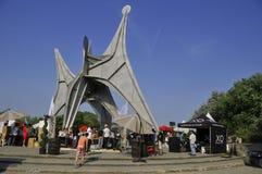 亚历山大・考尔德雕塑 库存照片