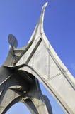 亚历山大・考尔德雕塑 免版税图库摄影