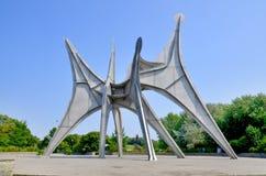 亚历山大・考尔德雕塑 库存图片