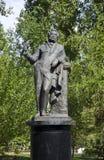 亚历山大・谢尔盖耶维奇・普希金的纪念碑 免版税库存图片