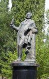 亚历山大・谢尔盖耶维奇・普希金的纪念碑 库存图片