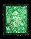 亚历山大(1888-1934), serie国王,大约1931年 库存图片