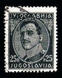 亚历山大(1888-1934), serie国王,大约1931年 免版税库存照片
