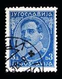 亚历山大(1888-1934), serie国王,大约1931年 免版税库存图片