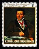 亚历山大Lenoir,书面的国际星期画象  免版税图库摄影