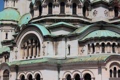 亚历山大Nevski大教堂,索非亚Bulg 库存图片