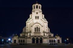 亚历山大Nevski大教堂 免版税图库摄影