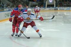 亚历山大Radulov (47)和Korpikari Oskari (2) 免版税库存照片