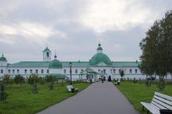 亚历山大Svirsky修道院列宁格勒地区俄罗斯的看法 图库摄影