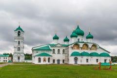 亚历山大Svirsky修道院,俄罗斯 库存照片